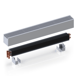 Itermic convector radiators come in a range of colors